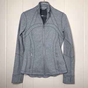 Lululemon Define Zip Jacket Heather Grey